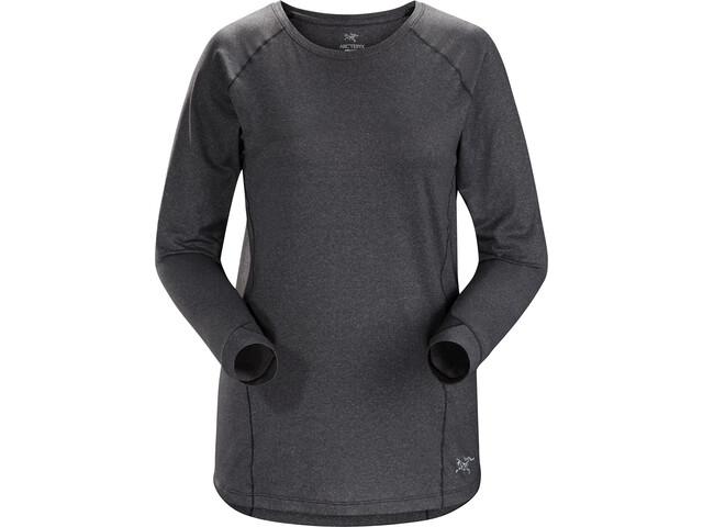 Arc'teryx Tolu - Camiseta de manga larga Mujer - negro